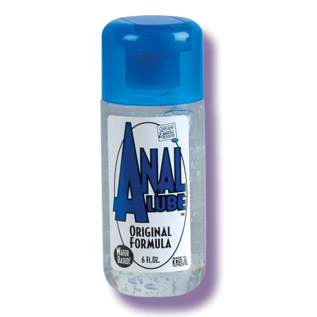 Anal Lube Original Formula 6 fl oz California Exotic Trusted Sex Toys