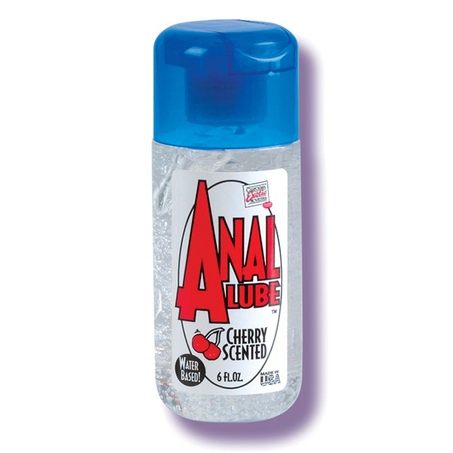 Anal Lube Cherry Scented 6 fl oz California Exotic Trusted Sex Toys