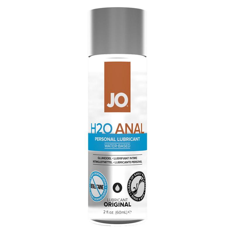 JO Anal H2O Original 2 fl oz System Jo Trusted Sex Toys