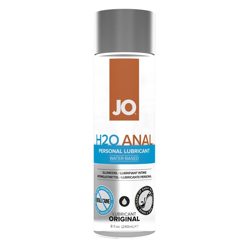 JO Anal H2O Original 8 fl oz System Jo Trusted Sex Toys