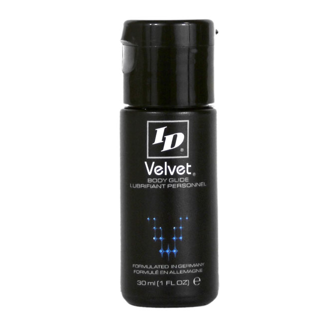 ID Velvet 30ml (1 fl oz) Lube Silicone Trusted Sex Toys