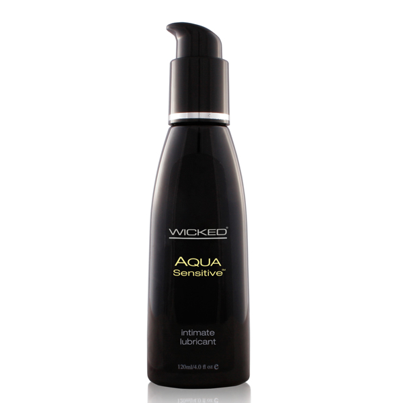 Wicked Aqua Sensitive Lubricant Lube Glycerin Paraben etc Free Sex Toy