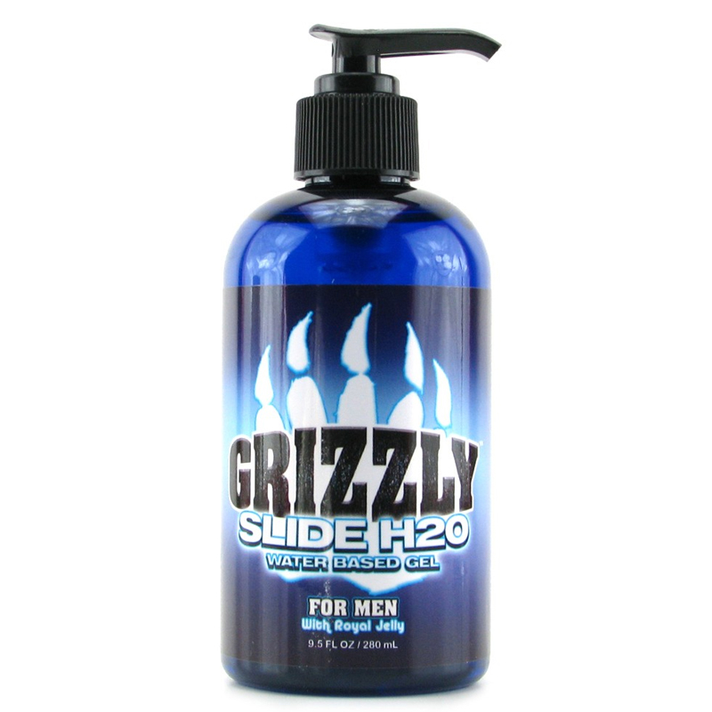Grizzly Slide Water Based Lube 9 Lube Glycerin Paraben etc Free Toy