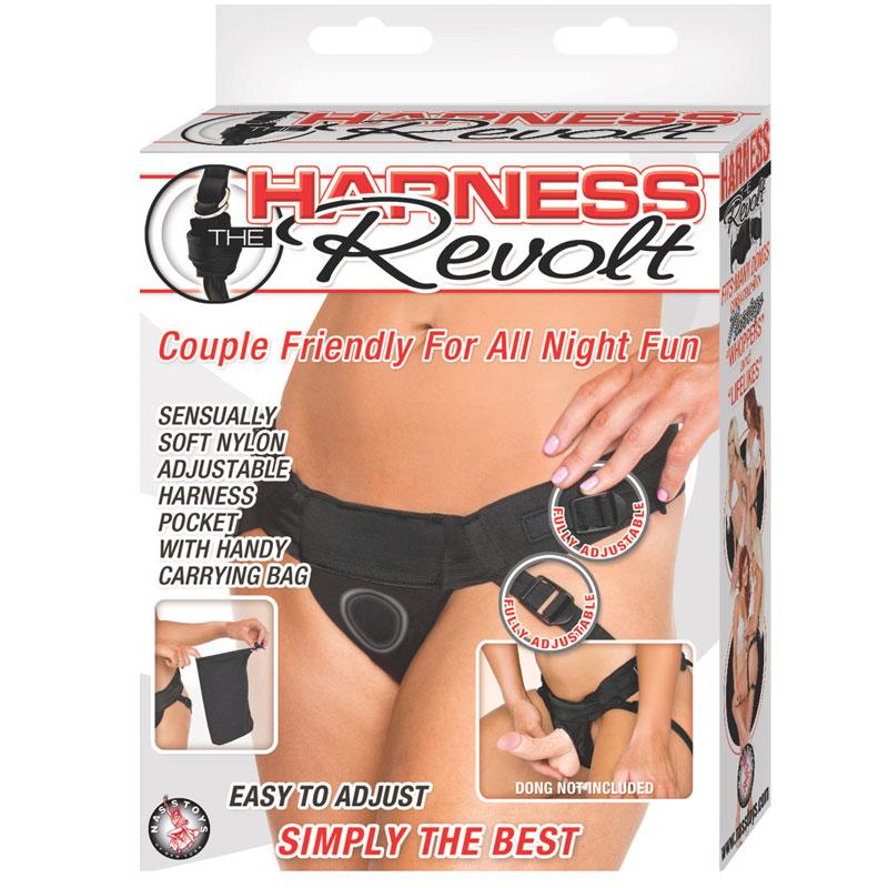 Harness the Revolt (Black) Nasstoys Trusted Sex Toys