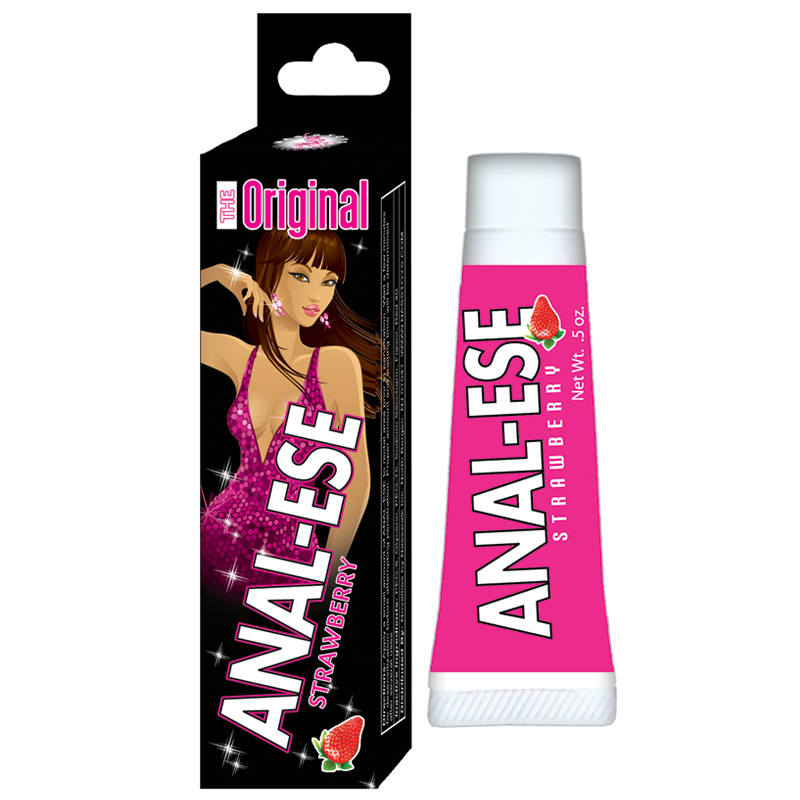 Anal Ese Home Party Strawberry .5oz. Nasstoys Trusted Sex Toys