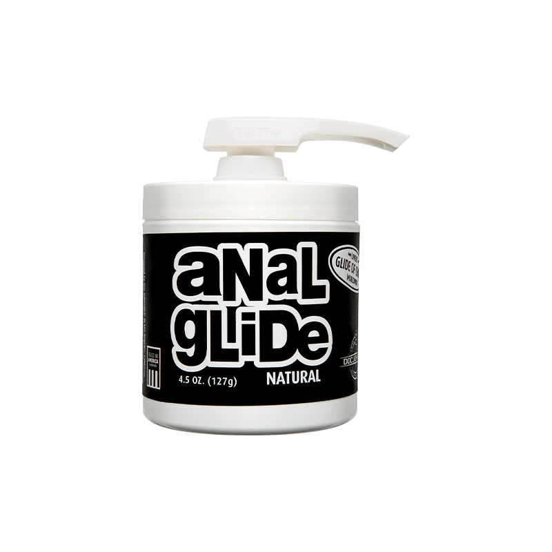 Anal Lube 4.5oz. Pump (Natural) Doc Johnson Trusted Sex Toys