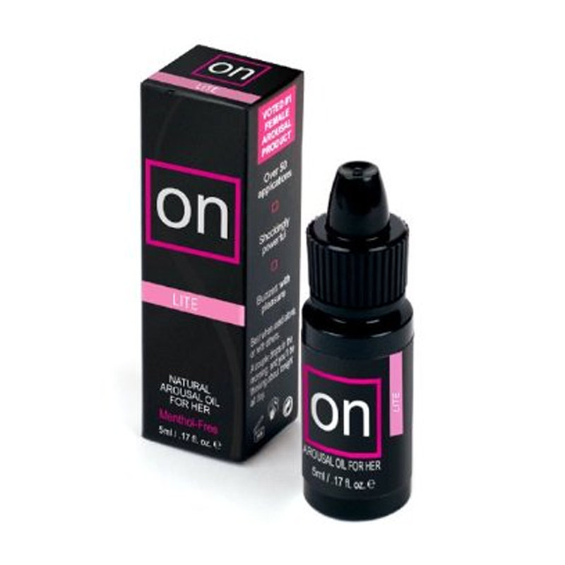 On Arousal Oil Lite 5ml Bottle Lube Cream and Oil Based Sex Toys