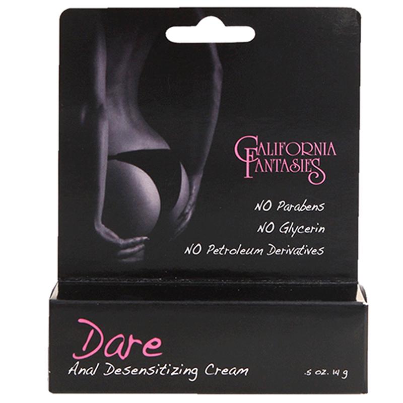 Dare Anal Desensitizing Cream .5oz Boxed California Fantasies Sex Toys