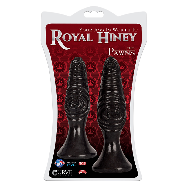 Royal Hiney Red The Pawns Black Curve Novelties Trusted Sex Toys